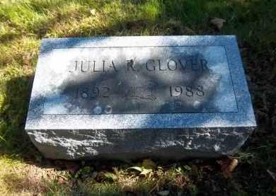 GLOVER, JULIA R. - Suffolk County, New York   JULIA R. GLOVER - New York Gravestone Photos