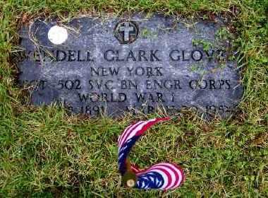 GLOVER, WENDELL CLARK - Suffolk County, New York | WENDELL CLARK GLOVER - New York Gravestone Photos