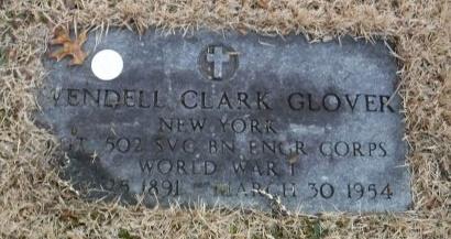 GLOVER, WENDELL CLARK - Suffolk County, New York   WENDELL CLARK GLOVER - New York Gravestone Photos