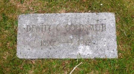 GOLDSMITH, DEWITT C - Suffolk County, New York | DEWITT C GOLDSMITH - New York Gravestone Photos