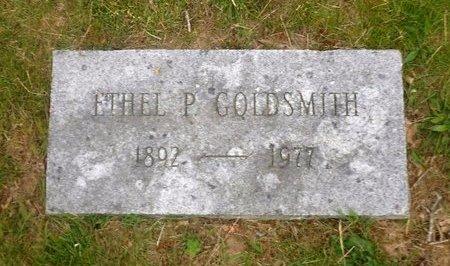 GOLDSMITH, ETHEL P - Suffolk County, New York | ETHEL P GOLDSMITH - New York Gravestone Photos