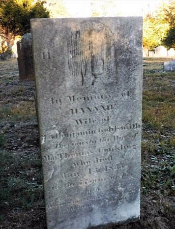 GOLDSMITH, HANNAH - Suffolk County, New York | HANNAH GOLDSMITH - New York Gravestone Photos