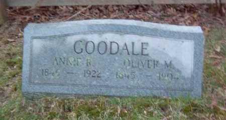 GOODALE, OLIVER M. - Suffolk County, New York   OLIVER M. GOODALE - New York Gravestone Photos