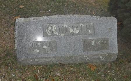 GOODALE, ELIZABETH C - Suffolk County, New York | ELIZABETH C GOODALE - New York Gravestone Photos