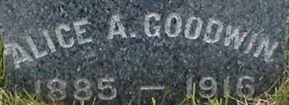 GOODWIN, ALICE A. - Suffolk County, New York | ALICE A. GOODWIN - New York Gravestone Photos