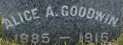 GOODWIN, ALICE A. - Suffolk County, New York | ALICE A. GOODWIN - New York Gravestone Photos