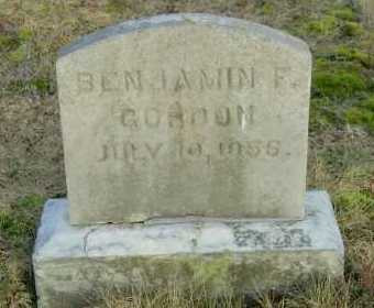GORDON, BENJAMIN F - Suffolk County, New York   BENJAMIN F GORDON - New York Gravestone Photos