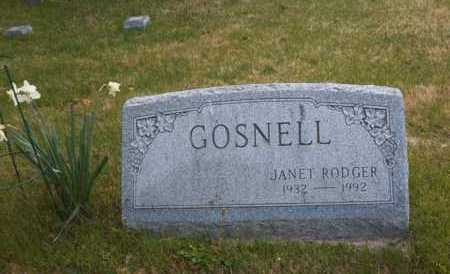 RODGER, JANET - Suffolk County, New York | JANET RODGER - New York Gravestone Photos