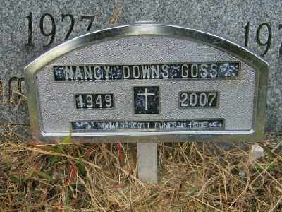 DOWNS, NANCY - Suffolk County, New York | NANCY DOWNS - New York Gravestone Photos