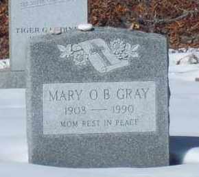 GRAY, MARY O.B. - Suffolk County, New York | MARY O.B. GRAY - New York Gravestone Photos