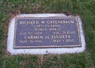 DE ZULETA GREENEBAUM, CARMEN - Suffolk County, New York | CARMEN DE ZULETA GREENEBAUM - New York Gravestone Photos