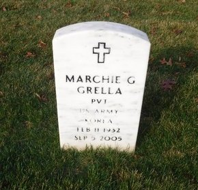 GRELLA (KOR), MARCHIE G - Suffolk County, New York | MARCHIE G GRELLA (KOR) - New York Gravestone Photos