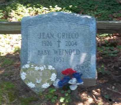 GRIECO, JEAN - Suffolk County, New York | JEAN GRIECO - New York Gravestone Photos