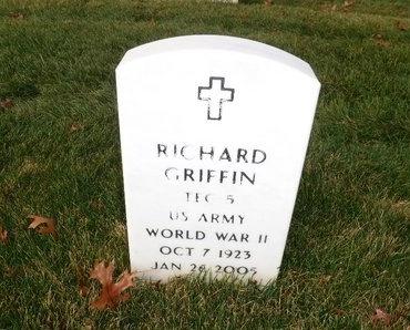 GRIFFIN, RICHARD - Suffolk County, New York   RICHARD GRIFFIN - New York Gravestone Photos