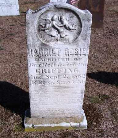 GRIFFING, HARRIET ROSIE - Suffolk County, New York | HARRIET ROSIE GRIFFING - New York Gravestone Photos