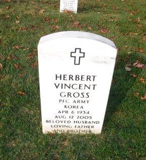 GROSS (KOR), HERBERT VINCENT - Suffolk County, New York | HERBERT VINCENT GROSS (KOR) - New York Gravestone Photos