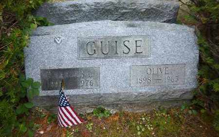 GUISE, OLIVE - Suffolk County, New York | OLIVE GUISE - New York Gravestone Photos