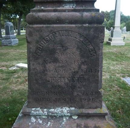 HALLOCK, ADDISON W - Suffolk County, New York | ADDISON W HALLOCK - New York Gravestone Photos