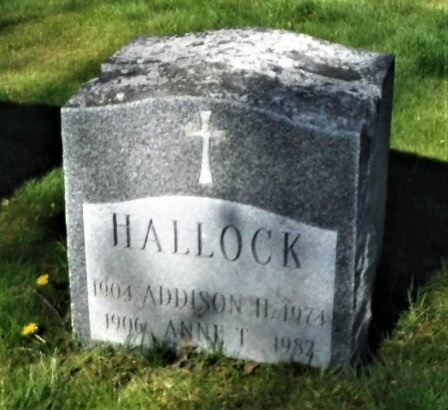 HALLOCK, ANNE T - Suffolk County, New York | ANNE T HALLOCK - New York Gravestone Photos