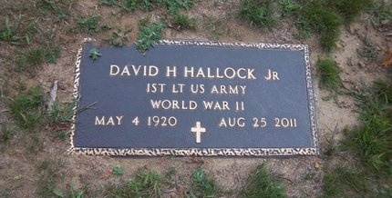HALLOCK, DAVID H - Suffolk County, New York | DAVID H HALLOCK - New York Gravestone Photos