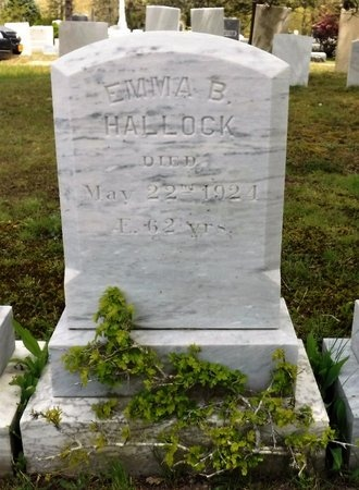 HALLOCK, EMMA B - Suffolk County, New York   EMMA B HALLOCK - New York Gravestone Photos