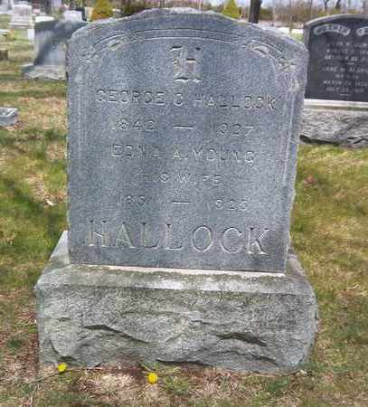 YOUNG HALLOCK, EDNA A - Suffolk County, New York | EDNA A YOUNG HALLOCK - New York Gravestone Photos