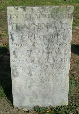 HALLOCK, HANNAH - Suffolk County, New York   HANNAH HALLOCK - New York Gravestone Photos