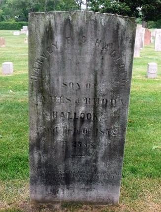 HALLOCK, HARVEY F.G. - Suffolk County, New York   HARVEY F.G. HALLOCK - New York Gravestone Photos