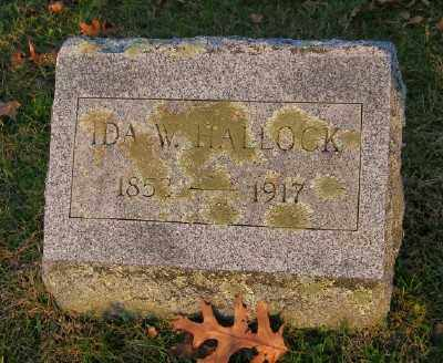 HALLOCK, IDA W - Suffolk County, New York | IDA W HALLOCK - New York Gravestone Photos