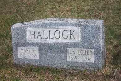 HALLOCK, L. BEECHER - Suffolk County, New York | L. BEECHER HALLOCK - New York Gravestone Photos