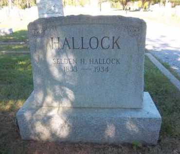 HALLOCK, SELDEN - Suffolk County, New York | SELDEN HALLOCK - New York Gravestone Photos