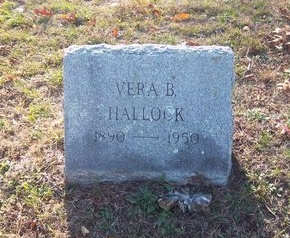 HALLOCK, VERA B - Suffolk County, New York | VERA B HALLOCK - New York Gravestone Photos