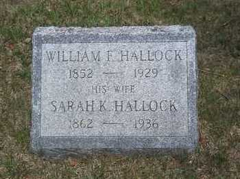 HALLOCK, SARAH K. - Suffolk County, New York | SARAH K. HALLOCK - New York Gravestone Photos