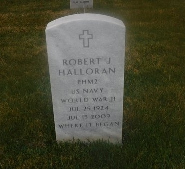 HALLORAN (WWII), ROBERT J - Suffolk County, New York | ROBERT J HALLORAN (WWII) - New York Gravestone Photos