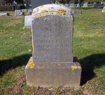 SAYRE, ELLEN A - Suffolk County, New York   ELLEN A SAYRE - New York Gravestone Photos