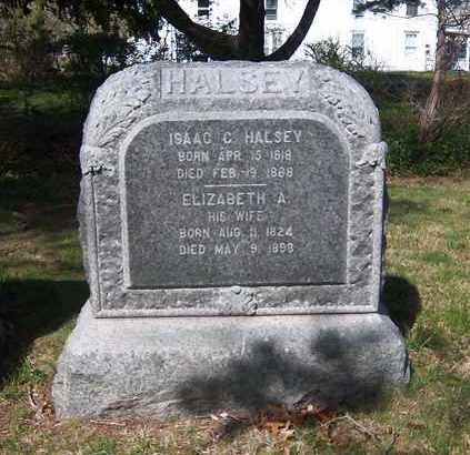 HALSEY, ISAAC C - Suffolk County, New York | ISAAC C HALSEY - New York Gravestone Photos