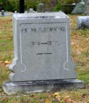 HAMMOND, FRANK C. - Suffolk County, New York | FRANK C. HAMMOND - New York Gravestone Photos