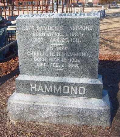 HAMMOND, CHARLOTTE H - Suffolk County, New York   CHARLOTTE H HAMMOND - New York Gravestone Photos
