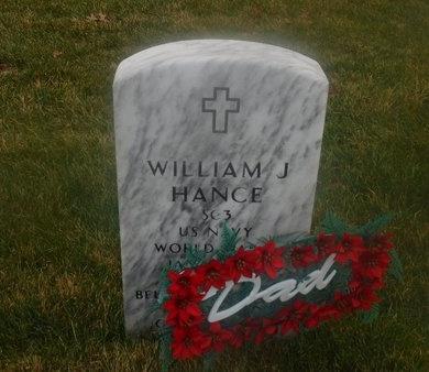 HANCE (WWII), WILLIAM J - Suffolk County, New York | WILLIAM J HANCE (WWII) - New York Gravestone Photos