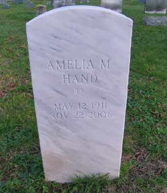 HAND, AMELIA M - Suffolk County, New York   AMELIA M HAND - New York Gravestone Photos