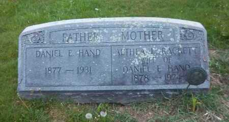 HAND, DANIEL E. - Suffolk County, New York | DANIEL E. HAND - New York Gravestone Photos