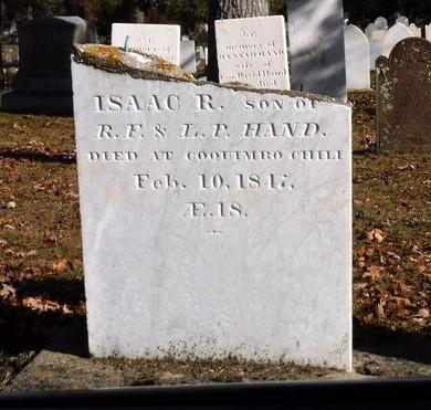 HAND, ISAAC R - Suffolk County, New York   ISAAC R HAND - New York Gravestone Photos