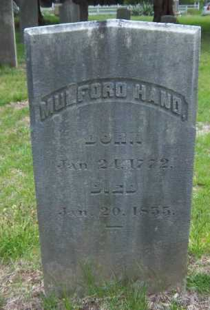 HAND, MULFORD - Suffolk County, New York | MULFORD HAND - New York Gravestone Photos