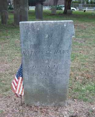 HAND, NATHANIEL - Suffolk County, New York | NATHANIEL HAND - New York Gravestone Photos