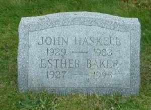 BAKER, ESTHER - Suffolk County, New York | ESTHER BAKER - New York Gravestone Photos