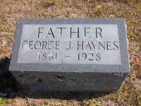 HAYNES, GEORGE J - Suffolk County, New York   GEORGE J HAYNES - New York Gravestone Photos