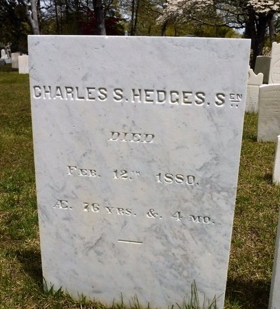 HEDGES, CHARLES S - Suffolk County, New York   CHARLES S HEDGES - New York Gravestone Photos