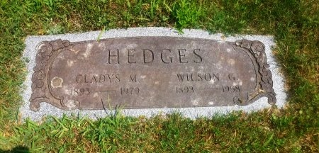 HEDGES, WILSON G - Suffolk County, New York | WILSON G HEDGES - New York Gravestone Photos