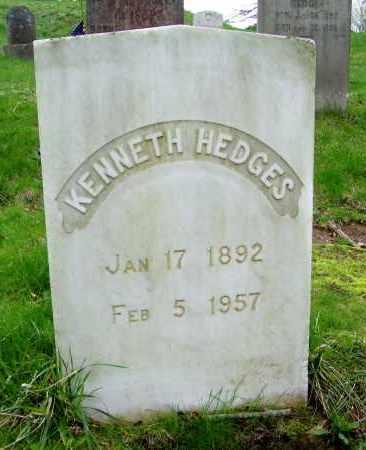 HEDGES, KENNETH - Suffolk County, New York | KENNETH HEDGES - New York Gravestone Photos