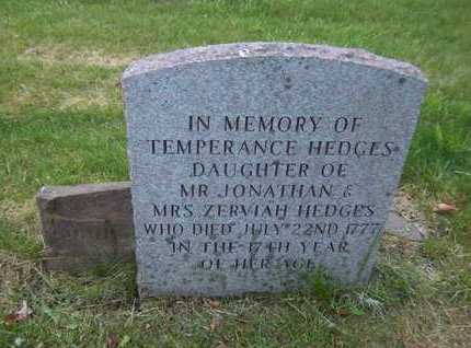 HEDGES, TEMPERANCE - Suffolk County, New York | TEMPERANCE HEDGES - New York Gravestone Photos